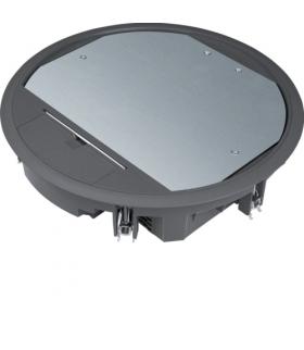 tehalit.VE-EE Pokrywa uchylna VR10 fi275 wykładzina 5mm czarny PA Hager VR10059005