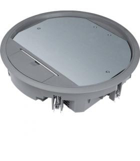 tehalit.VE-EE Pokrywa uchylna VR10 fi275 wykładzina 12mm stal szary PA Hager VR10127011
