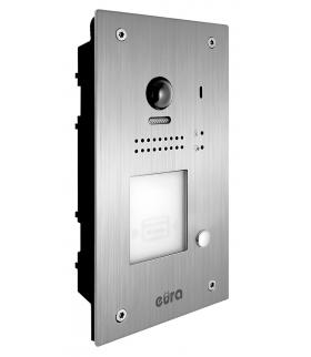 KASETA ZEWNĘTRZNA WIDEODOMOFONU VDA-87A5 1 lokatorska, podtynkowa, kamera 105 st., z funkcją karty zbliżeniowej