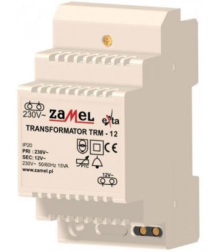 TRANSFORMATOR TRM-12 230/ 12V AC 15 VA