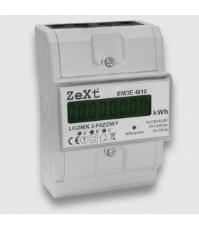 LICZNIK ENERGII ELEKTRYCZNEJ 3-FAZOWY LCD