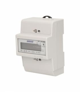 1-fazowy wskaźnik zużycia energii elektrycznej, 80A OR-WE-502