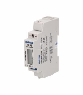 1-fazowy wskaźnik zużycia energii elektrycznej, 80A, port RS-485