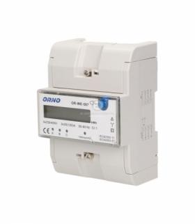 3-fazowy wskaźnik energii elektrycznej 3x20(120)A