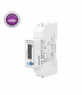 1-fazowy licznik energii elekt.100A RS485, MID