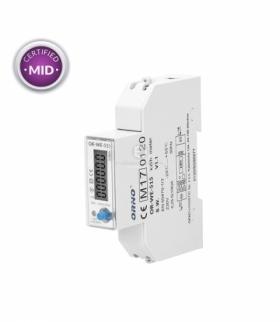 1-fazo licznik energii elekt.100A.wielot. RS485MID