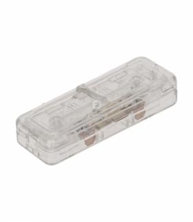 Wyłącznik suwakowy, przelotowy lub końcowy, 2-torowy, 2,5A/250V, bezbarwny Orno WS-2P/BEZB