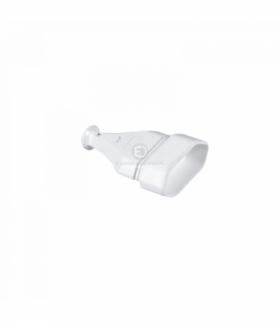 Gniazdo wtyczk.przenośne płaskie.2,5A,250V rozbieralne, białe Orno GN-11/BIAŁY