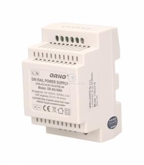 Zasilacz impulsowy na szynę DIN 12V, 0,4A Orno OR-AD-5004