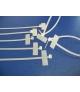 GTK190STC Opaski kablowe z opisem 190x4.6