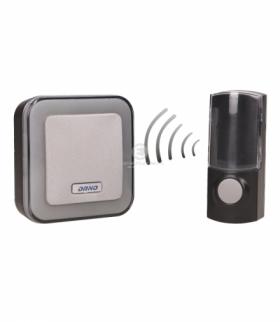 Dzwonek bezprzewodowy ENKA AC, sieciowy, learning system, 32 dźwięki, 100m Orno OR-DB-AT-137
