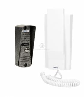 Zestaw domofonowy jednorodzinny, wandaloodporny, biały FORNAX Orno OR-DOM-JJ-926/W