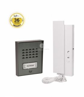 Zestaw domofonowy DOMOFON jednorodzinny, 2-żyłowy, SAGITTA