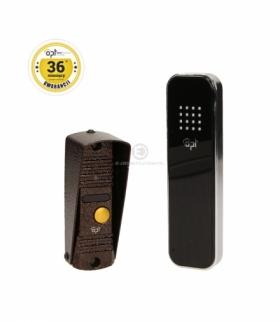 Zestaw domofonowy jednorodzinny, bezsłuchawkowy, wandaloodporny, CORS B