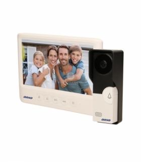 """Zestaw wideodomofonowy, bezsłuchawkowy, kolor, LCD 7"""", biały, IMAGO Orno OR-VID-MC-1059/W"""