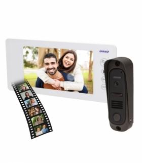 """Zestaw wideodomofonowy kolorowy 7"""", ARCUS MEMO Biały OR-VID-JS-1040/W"""