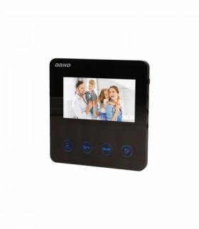 """Wideo monitor bezsłuchawkowy, kolorowy, LCD 4,3"""", do zestawu z serii DUX, otwieranie bramy Orno OR-VID-MT-1050MV"""