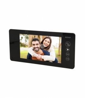"Wideo monitor, kolor, LCD 7"" czarny, pam, ARCUS M"