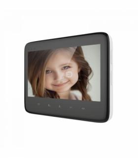"""Wideo monitor bezsłuchawkowy, kolorowy, LCD 7"""", do zestawu DICO, czarny Orno OR-VID-VP-1055MV/B"""