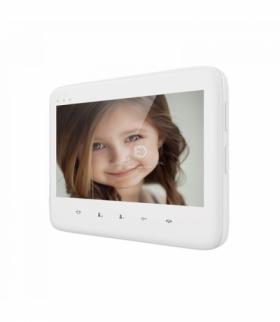 """Wideo monitor bezsłuchawkowy, kolorowy, LCD 7"""", do zestawu DICO, biały Orno OR-VID-VP-1055MV/W"""