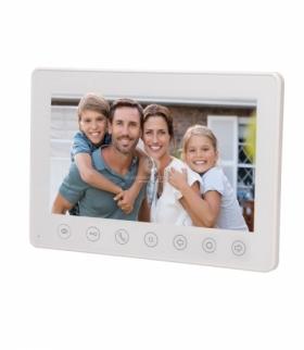 """Wideo monitor bezsłuchawkowy, kolorowy, LCD 7"""", do zestawu NUMERUS, biały Orno OR-VID-EG-1052MV/W"""