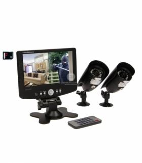 System do monitoringu 2-kanałowy przewodowy CCTV OR-MT-JX-1802