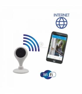 Bezprzewodowa kamera monitorująca IP wewnętrzna, mini Orno OR-MT-GV-1808
