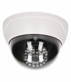 Atrapa kopułowej kamery monitorującej