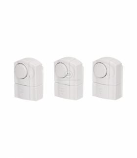 Zestaw mini alarmów okienno - drzwiowych, 3 szt.