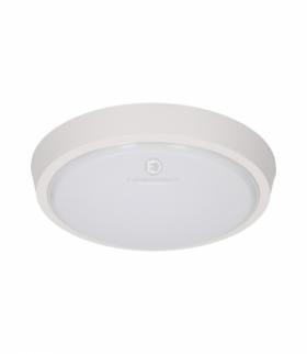 Plafon LESTE LED 8W, 80 SMD3014 Epistar, 660lm, 3000K, poliwęglan mleczny