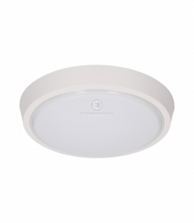 Plafon LESTE LED 16W, 96 SMD2835 Epistar, 1440lm, 3000K, poliwęglan mleczny