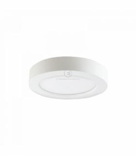 CITY LED, oprawa downlight , natynkowa, okrągła, 24W, 1900lm, 3000K, biała, wbudowany zasilacz LED Orno OR-OD-6074WLX3