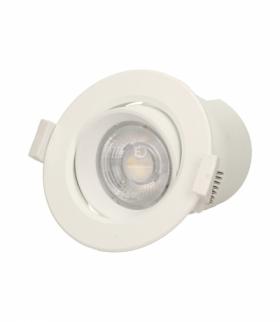 SARMA LED, oprawa downlight, podtynkowa, ruchoma, ściemniacz, 9W, 720lm, 4000K, wbudowany zasilacz LED Orno OR-OD-6085WLX4