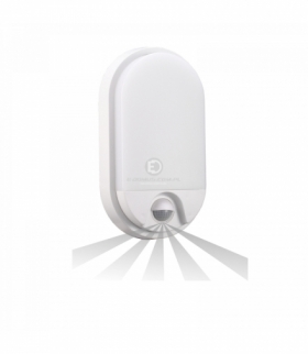 NEFRYT LED, oprawa ogrodowa z czujnikiem ruchu, 10W, 850lm, 4000K, IP54 Orno OR-OP-6110WLPMR4