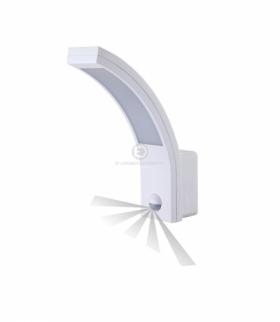 PIRYT LED , oprawa ogrodowa z czujnikiem ruchu, 140st, 10W, 850lm, 4000K, IP54 Orno OR-OP-6109WLPMR4