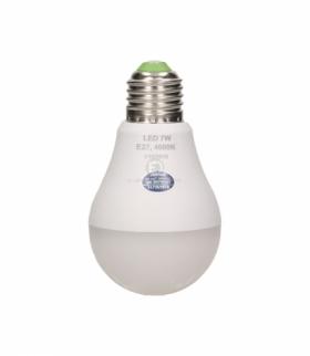 SAHIL LED, żarówka z mikrofalowym czujnikiem ruchu, 7W, 600lm, 4000K , gwint E27 Orno OR-SW-6106LM4