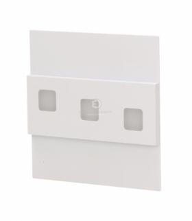LEPUS LED, oprawa schodowa, 1,2W, 3000K, 100lm, biała Orno OR-OS-1531L3/W