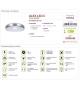 Plafoniera SMD LED ALEX LED C 12W 4000K IDEUS 03562