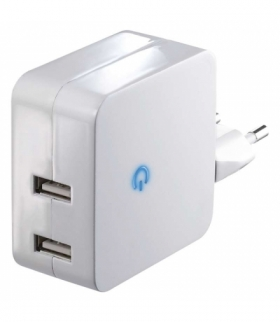 Zasilacz sieciowy 2x USB 4.2A max EMOS V0124