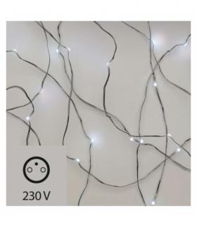 Ozdoby świąteczne 40 LED łezki 4m IP44 CW EMOS ZY1911