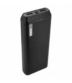 Powerbank EMOS ALPHA 20000 mAh czarny + kabel USB-C EMOS B0523B