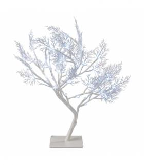 Dekoracje - 48 micro LED, drzewko 40 cm IP20, CW, timer EMOS ZY2251