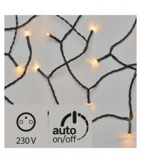 Lampki choinkowe 120 LED 12m VINTAGE, zielony przewód, timer EMOS ZY2288T