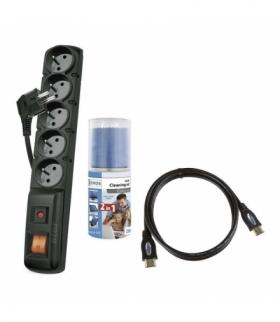 Zestaw ACAR F5 1,5m + płyn KC0301 + HDMI 1,5m SL0101 EMOS P53871S