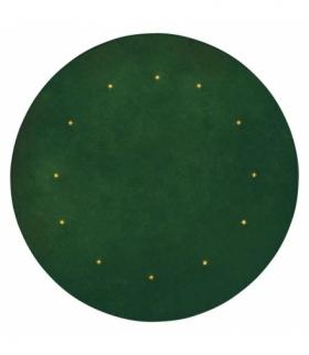 Dekoracje - 12 LED mata pod choinkę ziel. 1m IP20, WW timer EMOS ZY2267