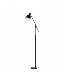 Lampa podłogowa E27 EDWARD 150 cm czarna EMOS Z7606