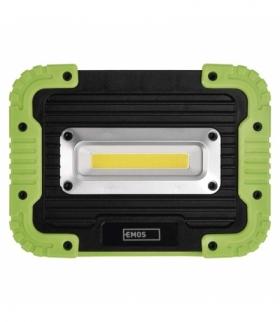 Naświetlacz LED 10W COB, 1000lm powerbank 4400 mAh ładowalny EMOS P4533