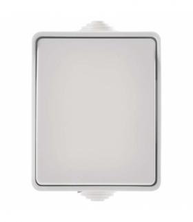 Wyłącznik natynkowy 1P IP54 biały EMOS A1398.3
