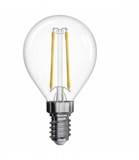 Żarówka LED Filament mini globe A++ 2W E14 ciepła biel EMOS Z74235