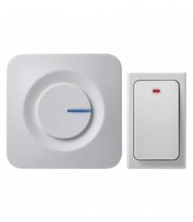 Dzwonek bezprzewodowy P5729, bezbateryjny przycisk EMOS P5729